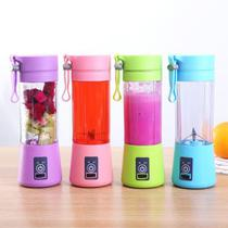 Mini Liquidificador Portátil Misturador Squeezers Recarregável Usb 6 Lâminas Vegetais Fruit Smooth - Laitesi