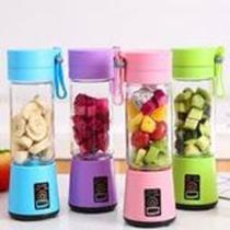 Mini Liquidificador Portátil para Shake Whey Vitamina Squeeze Fitness 380ml - Rts