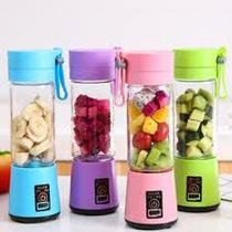 Mini Liquidificador Portátil para Shake Whey Vitamina Squeeze Fitness - Abc