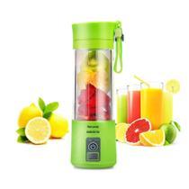 Mini Liquidificador Portátil Shake Eletrico Juice Cup VERDE - Booglee