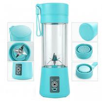 Mini Liquidificador Portátil Shake Juice Cup Cabo Usb Azul - Centertech