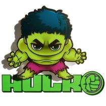Mini Luminária 3D Light FX Marvel Hulk -