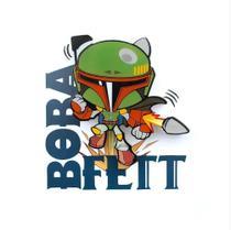 Mini Luminária 3D Light FX Star Wars Boba Fett - Beek