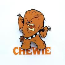Mini Luminária 3D Light FX Star Wars Chewie - Beek