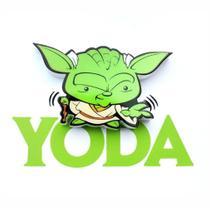 Mini Luminária 3d Light Fx Star Wars Yoda -