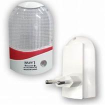 Mini luminária abajur de tomada luz noturna com sensor - Akash