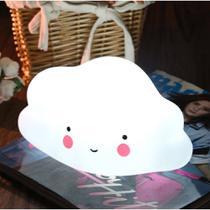 Mini Luminária Abajur Decorativa Nuvem Led Decoração Bebê - Tnc