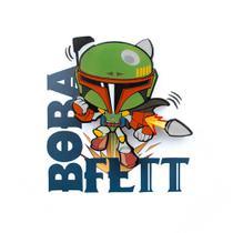 Mini Luminária Boba Fett - Star Wars - 3d light fx