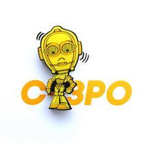 Mini Luminária C3PO - Star Wars - 3d light fx