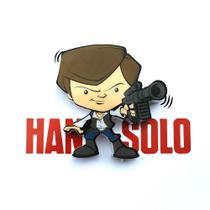 Mini Luminária Han Solo - Star Wars - 3D Light Fx