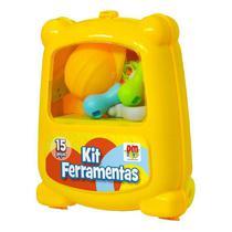 Mini Maletinha De Ferramentas Infantil Com 15 Peças - Dm Toys