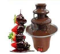 Mini Máquina Chocolate Cascata Fondue Panela Eletrica 220v - Garota Bonita