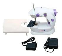 Mini Máquina de Costura com Mesa Funciona a Pilha ou Bivolt - Importway