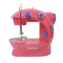 Mini Máquina de Costura para Reparos e Tecidos Leves West-222 - Westpress