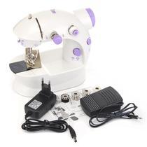 Mini Máquina de Costura Portátil Bivolt com pedal - Countertech