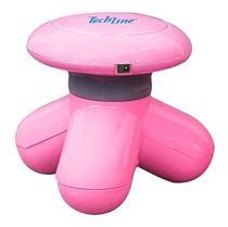 Mini Massageador Rosa MS1000 techline -