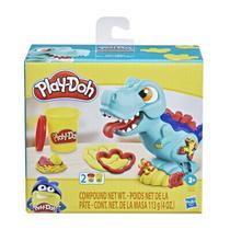 Mini massinha play doh dinossauro t-rex - hasbro e4902 -