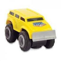 Mini Max Tow Pista Off-road Amarelo e Vermelho Dtc -