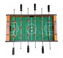Mini Mesa De Pebolim Futebol Totó 69 X 37 X 22cm Completa - HORIZONTE