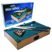 Mini Mesa Em Madeira De Bilhar Sinuca Snooker Western Games -