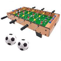 Mini Mesa Infantil Pebolim Totó 18 Jogadores Futebol - 365 Sports