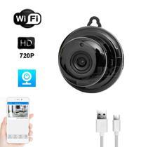 Mini Micro Camera Monitoramento Espia Segurança Hd Wireless - Jk