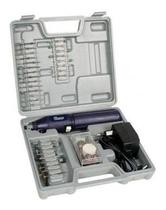 Mini Micro Retífica A Bateria Sem Fio + 62 Acessorios Bivolt - Western