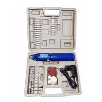 Mini Micro Retífica A Bateria Sem Fio Com 62 Acessorios Bivolt - Western