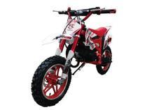Mini Moto Cross com Partida Elétrica 49cc - Vermelha - Importway