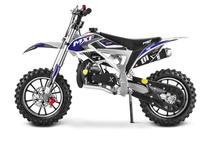 Mini Moto Cross ferinha 49cc Mxf Azul - Mxf motors