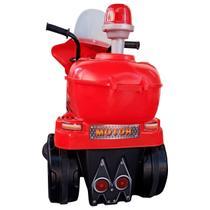 Mini Moto Elétrica Infantil 6V Bateria Luzez c/ som Vermelho - Cama Elástica Rs
