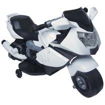 Mini Moto Elétrica Infantil 6V Branca BW-044BR Importway -