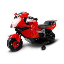 Mini Moto Eletrica Infantil 6V Vermelha BW044VM Importway -