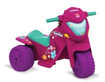 Mini Moto Elétrica Infantil BanMoto Rosa - 6V - Até 21 Kg - Bandeirante -