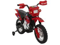 Mini Moto Elétrica Infantil Cross 6V - Homeplay