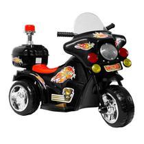 Mini Moto Elétrica Infantil Recarregável BW006-PR Importway -
