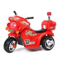 Mini Moto Elétrica Infantil Recarregável BW006-VM Importway -
