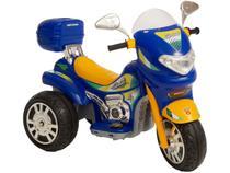 Mini Moto Elétrica Infantil Sprint Turbo - 2 Marchas 12V com Capacete Biemme