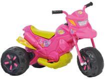 Mini Moto Elétrica Infantil XT3 Fashion 2 Marchas ROSA - Bandeirante -