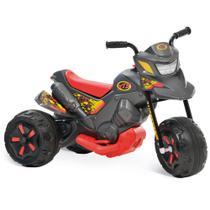 Mini Moto Elétrica - Xt3 Grafite 6v - Bandeirante -
