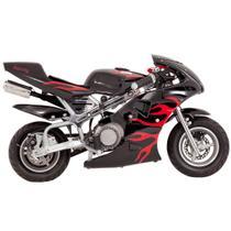 Mini Moto Speed 49cc - Preta - Importway
