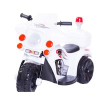 Mini Moto Triciclo Elétrico Infantil Branco - Unitoys
