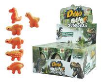 Mini Ovo Dinossauro 6 Cm Choca E Cresce Na Água - Dm Toys -
