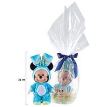 Mini Ovo Multibrink - Mickey com Macacão -
