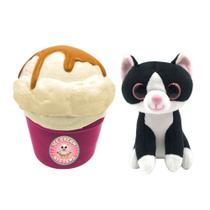Mini Pelúcia Surpresa - Sweet Pet Cats - Kitty Cup - Toyng -