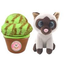 Mini Pelúcia Surpresa - Sweet Pet Cats - Mint Purr-Stachio - Toyng -