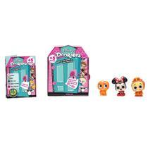 Mini Playset com Mini Figuras Surpresa - Disney - Doorables - 2 ou 3 Personagens - DTC -