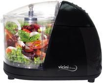 Mini Processador Alimentos Moedor Triturador Legumes Frutas Resistente Pequeno Moderno Cozinha Aço Inoxidável - Vicini - EPV-86 -