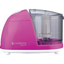 Mini Processador Cadence Easy Cut Colors Rosa -