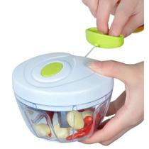 Mini Processador De Legumes Chef Manual Kit C/3 Pçs - 123Util